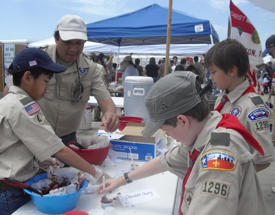 Picture at Scout Fair