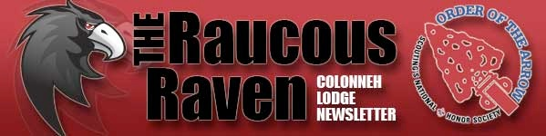 Raucous Raven newsletter graphic