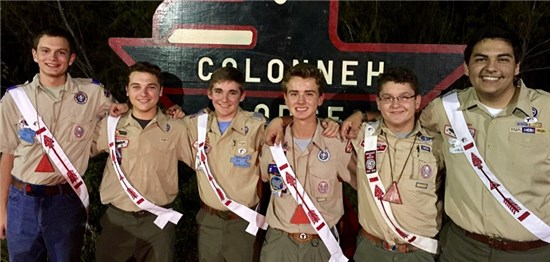 2017 Colonneh Lodge officers